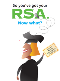 So you've got your RSA. Now what?