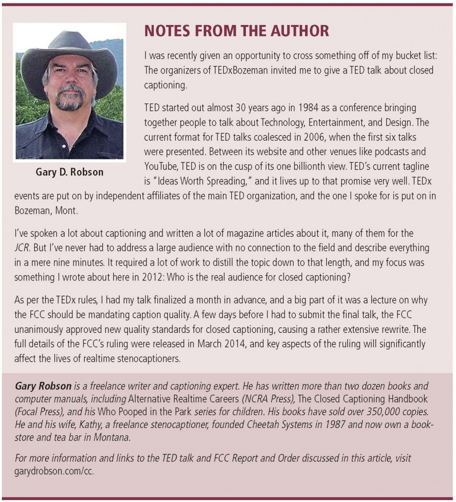 notes from the author