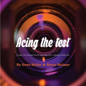 acing the test