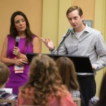 Kensie Benoit and Clay Frazier present at the NCRA Convention & Expo
