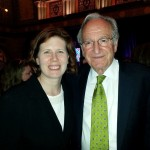 Kathryn Thomas photographed with Sen. Tom Harkin