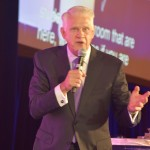John Wagner spoke about getting out of your comfort zone during NCRA's premier session