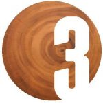 Number 3 overlaid a wooden stump