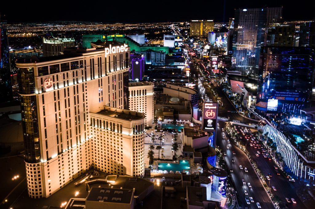 Planet Hollywood on the Las Vegas Strip