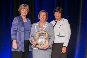 Nancy Varallo recognized with NCRA Distinguished Service Award