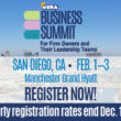 Don't miss the savings: Early registration rates end Dec. 10