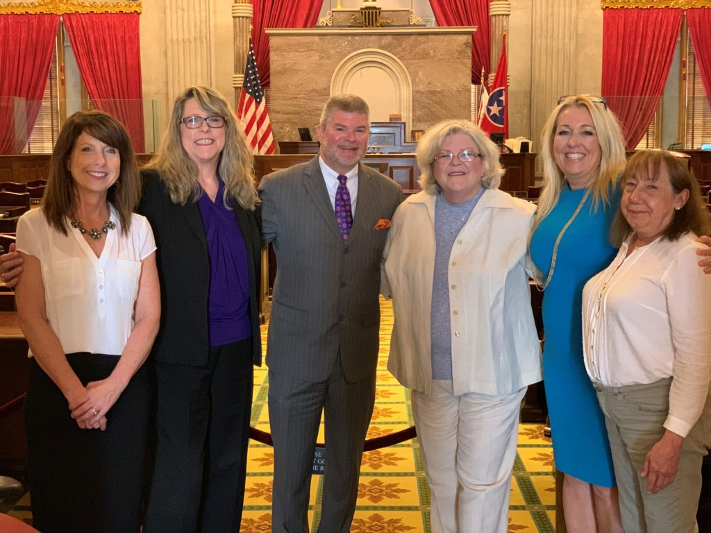 Tennessee Court Reporters Association members convinced state legislators to adopt a law to increase pay for criminal court reporters.